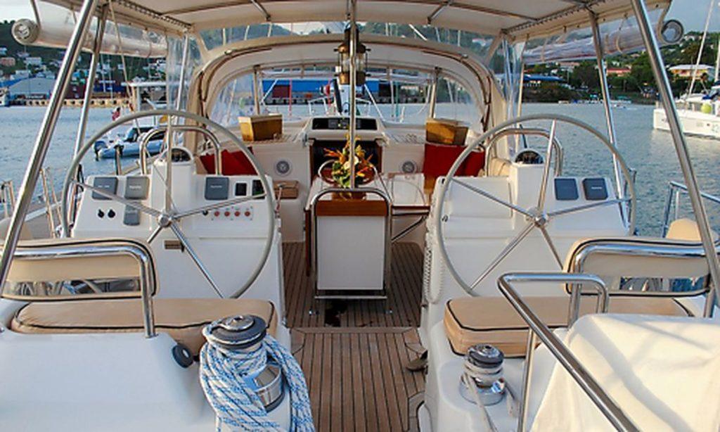 Betræk til yacht