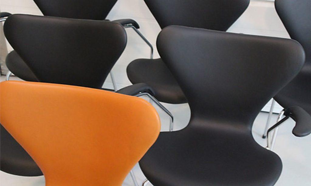 Ombetrækning af stole - møbelpolstrer